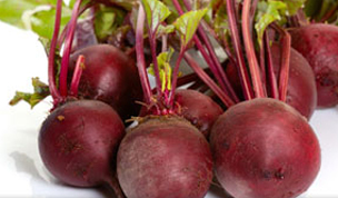 Red Beets from Dominion Farms