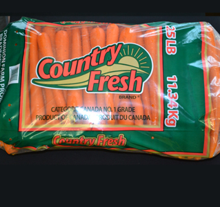 Country Fresh Brand ® Medium Carrots