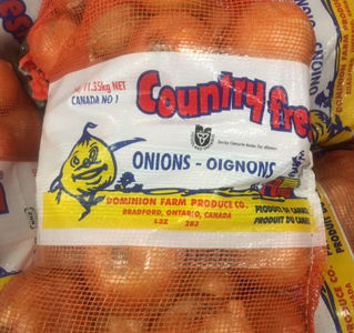 Country Fresh Brand ® Yellow Onions - Large