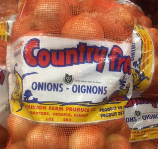 Country Fresh Brand ® Yellow Onions - Medium